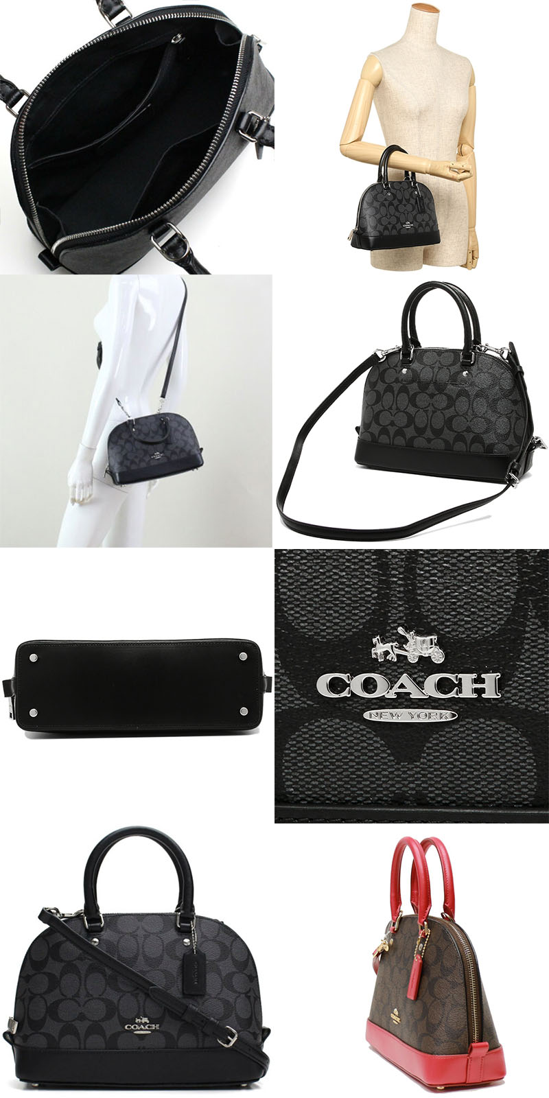 ad2d2536c2be Coach outlet bags do not have dust bag or paper bag. Tag and care cards are  included. Outlet items might not be 100% perfect in condition.