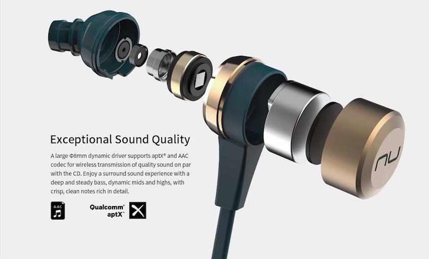 Optoma NuForce BE Live5 Acoustic Premium Bluetooth Earphones