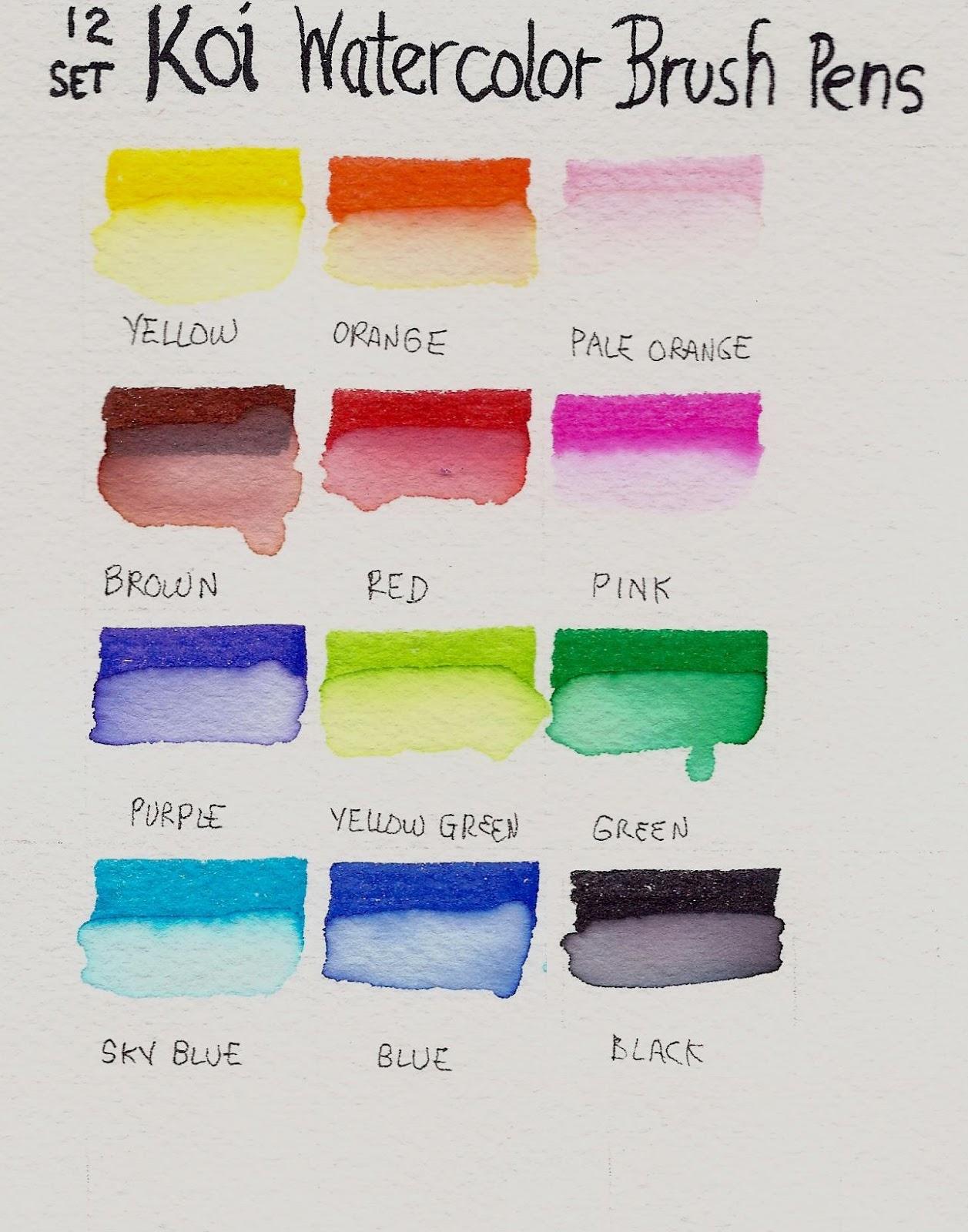SAKURA Koi Colouring Brush Pen