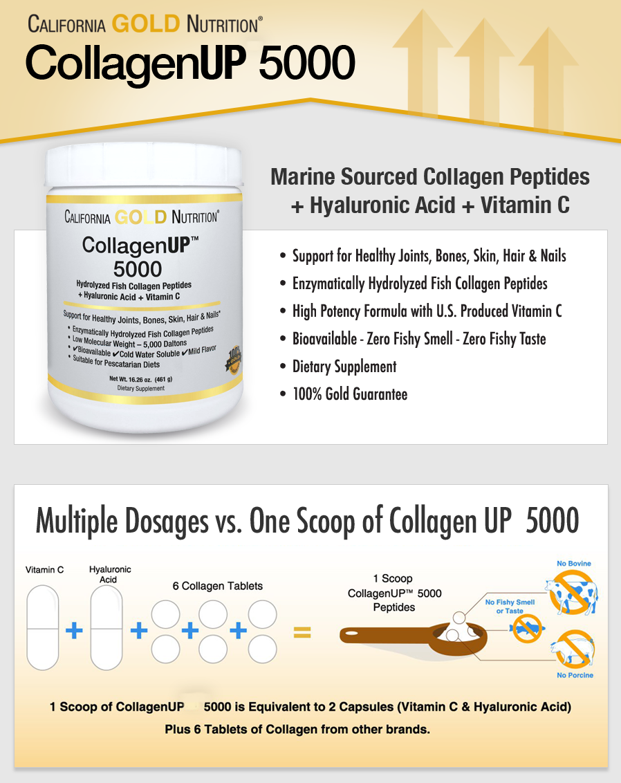 California Gold Nutrition, Collagen UP
