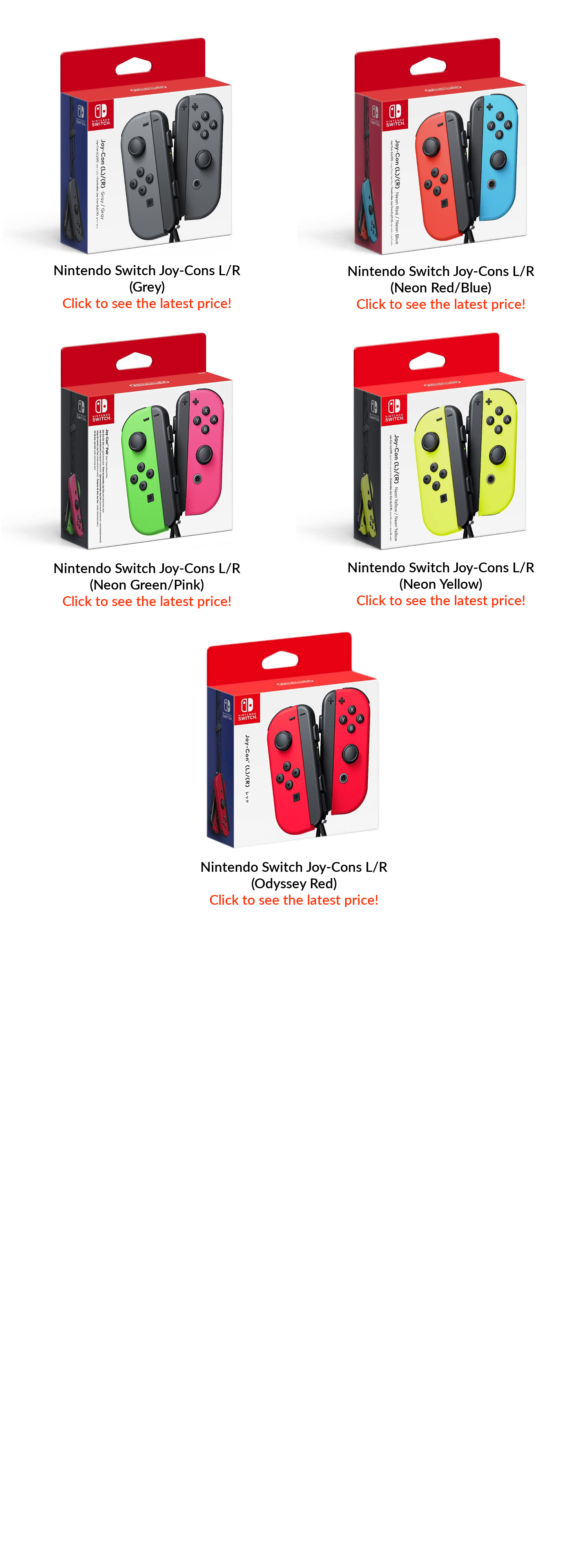 Nintendo Switch Console With Neon Blue Red Joy Con Asia Lazada Strap Yellow We Advocate The Use Of Official Licensed Products For A Safe And Optimized Experience