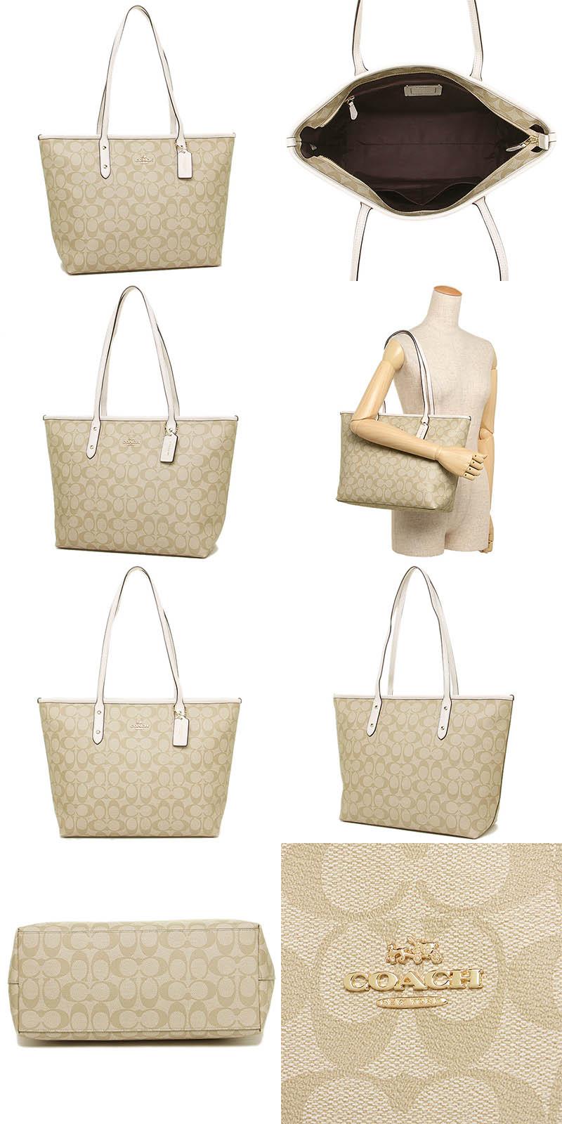 8168894df Coach big tote bag office lady shoulder bag handbag outlet COACH ...
