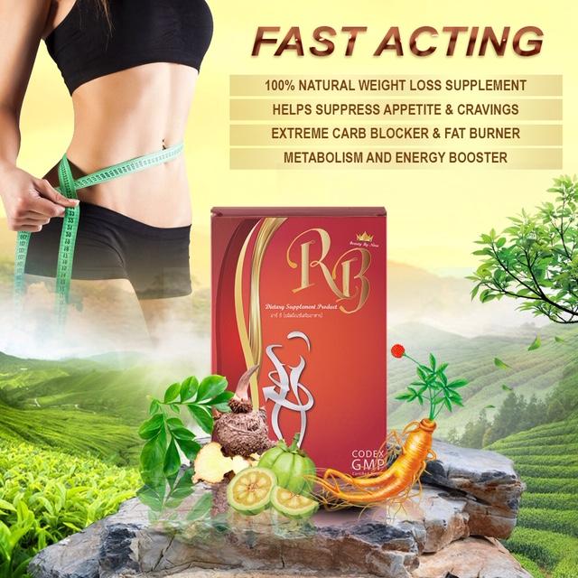 Weight Loss Supplement Carbs Sugar Blocker Fat Burner Slimming Pill