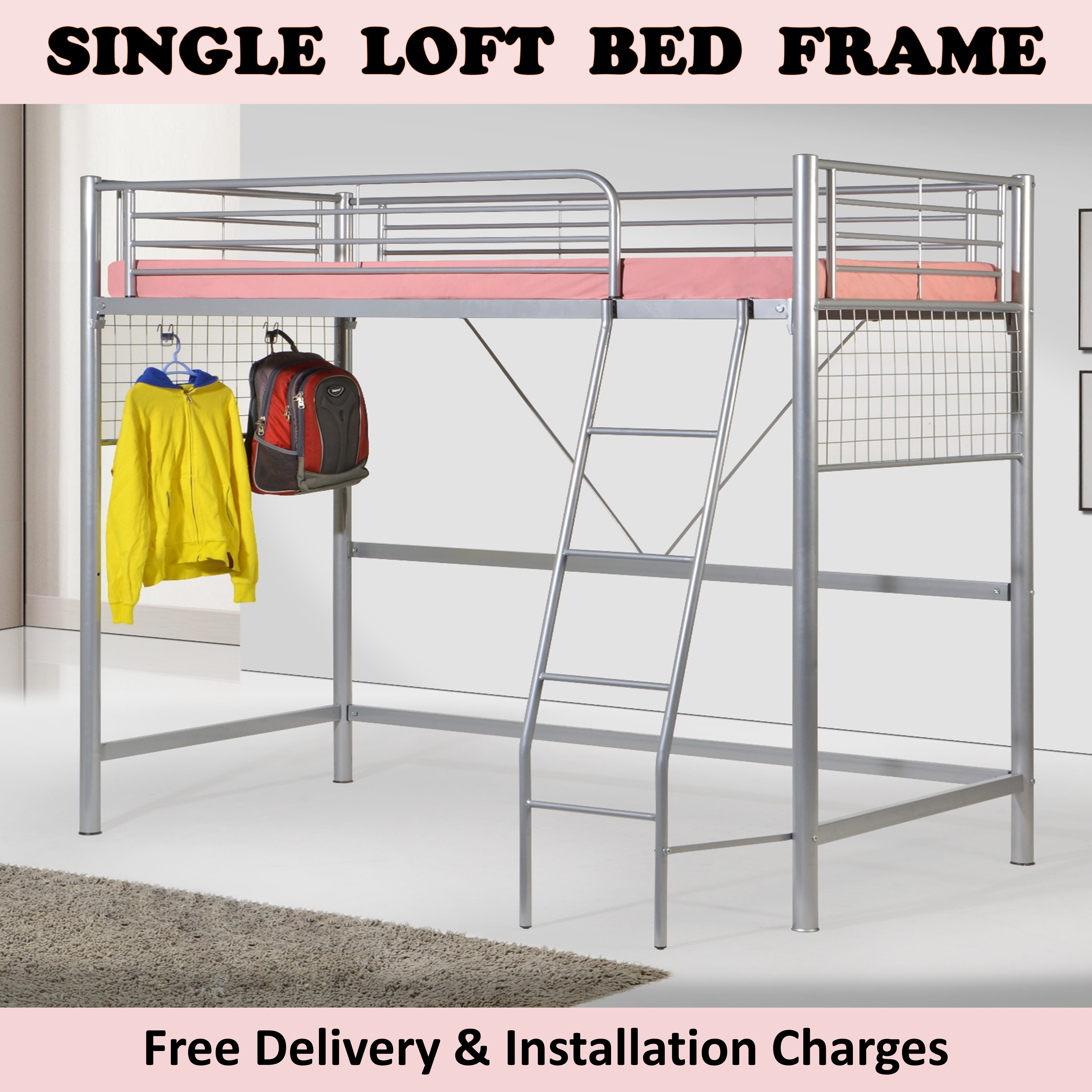Picture of: Jojo Loft Bed Buy Sell Online Beds With Cheap Price Lazada Singapore