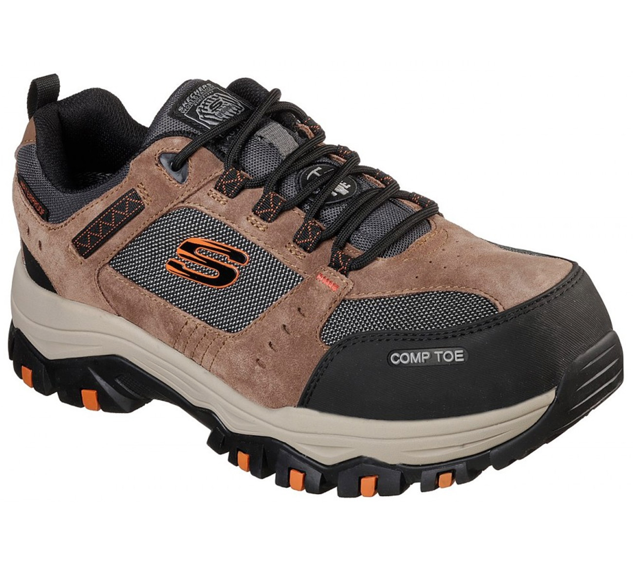 Skechers Work 77183 BRBK Composite Toe