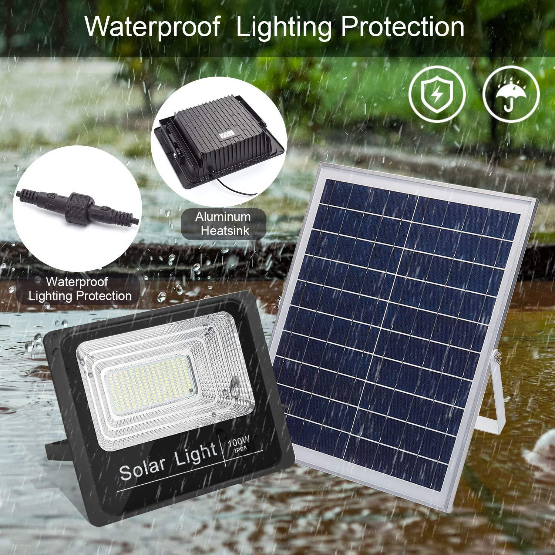 Takeblue Solar Led Flood Light 100w