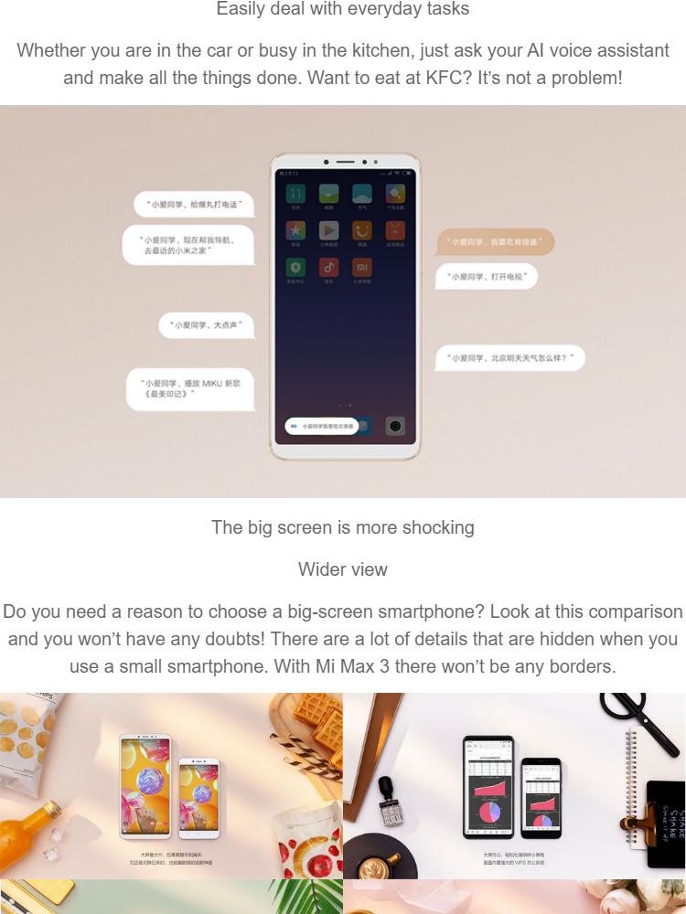 Xiaomi Mi Max 3 (4GB+64GB)