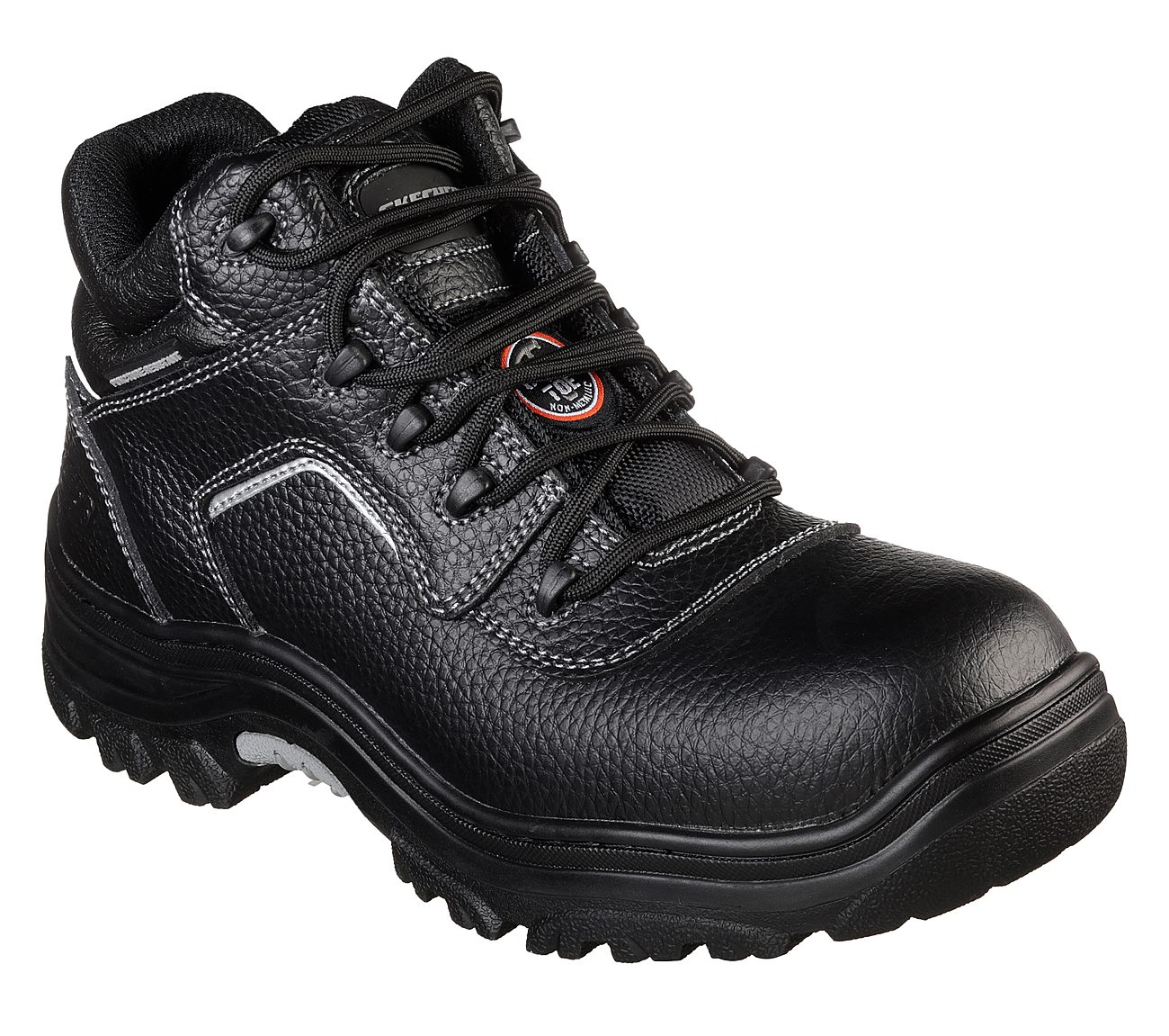 Composite Toe Cap Safety Shoe Mid Cut lace