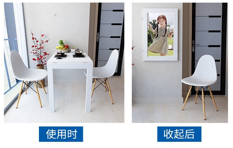 Sg Seller Best Selling Convertible Foldable Wall Mounted Dining Table Space Saver Lazada Singapore
