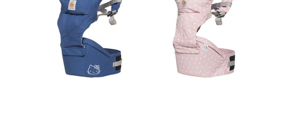 Ergobaby Hip Seat Six Position Baby Carriers (Mauve)