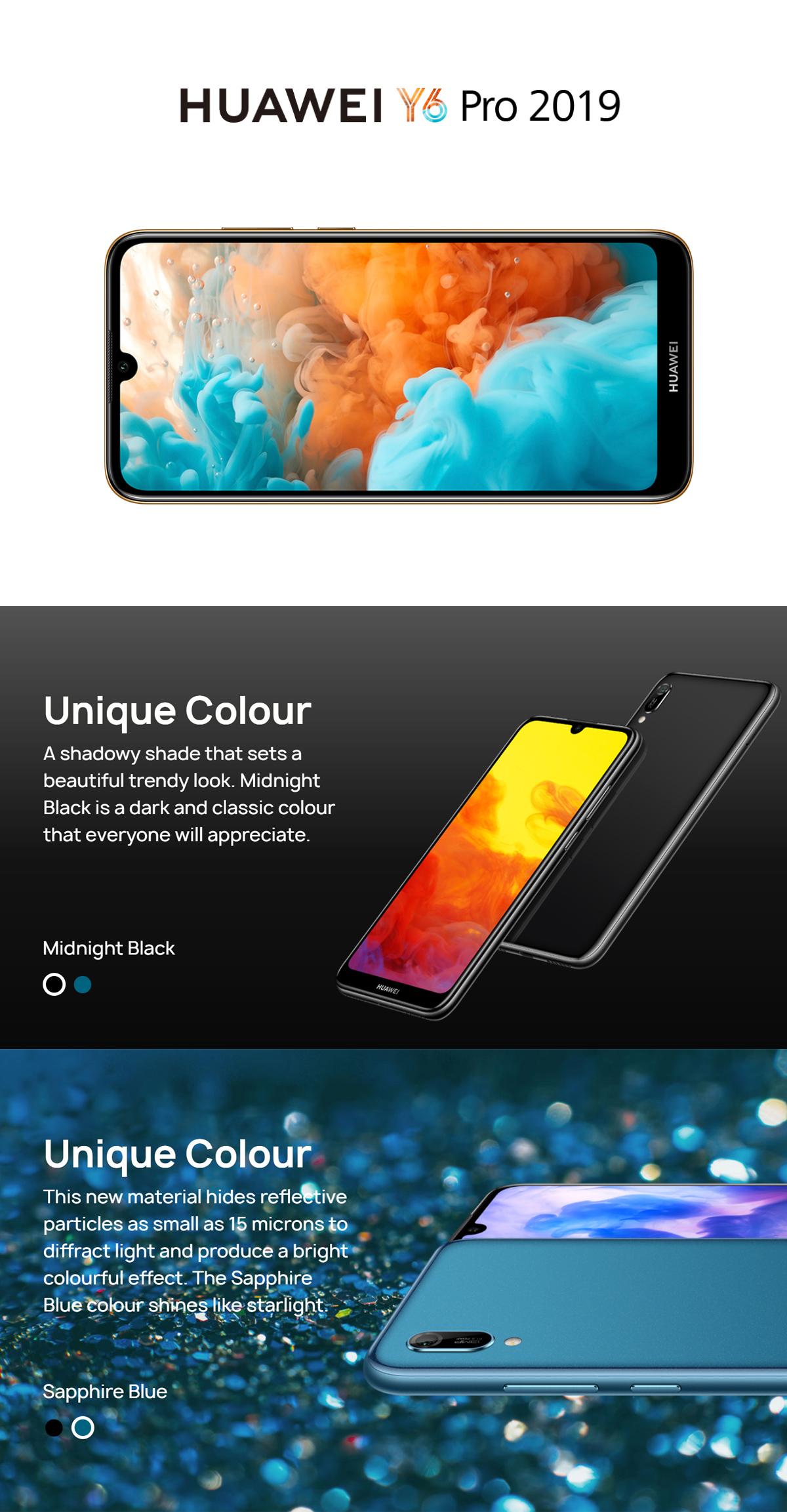 Huawei Y6 Pro 2019 3GB RAM+32GB ROM