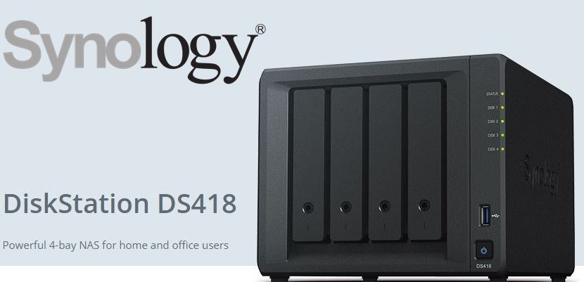 Synology NAS DS418 4Bay NAS Diskstation  Local Distributor Warranty  Local  Tech support  Award winning product