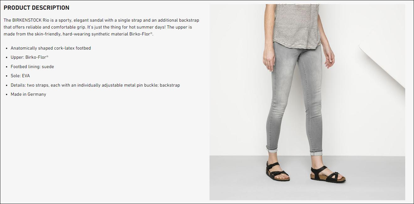 d9de2b1d2df7 Product details of Birkenstock Rio Birko-Flor® Women's Sandals