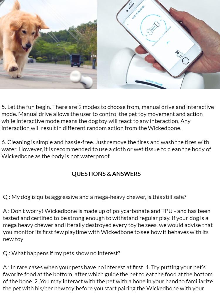 wickedbone smart dog toy cure puppys anxiety
