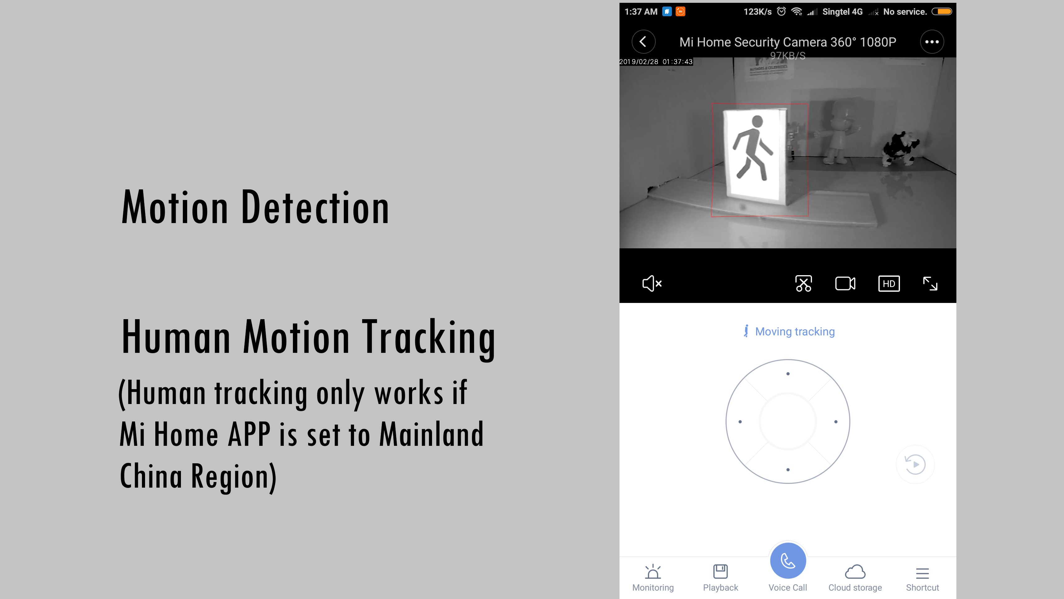 Xiaomi Mi Home Mijia Security Camera 360 Degrees View 1080P Wi-Fi Night  Vision Motion Detection Audio Video Recording Voice Intercom by Mojo