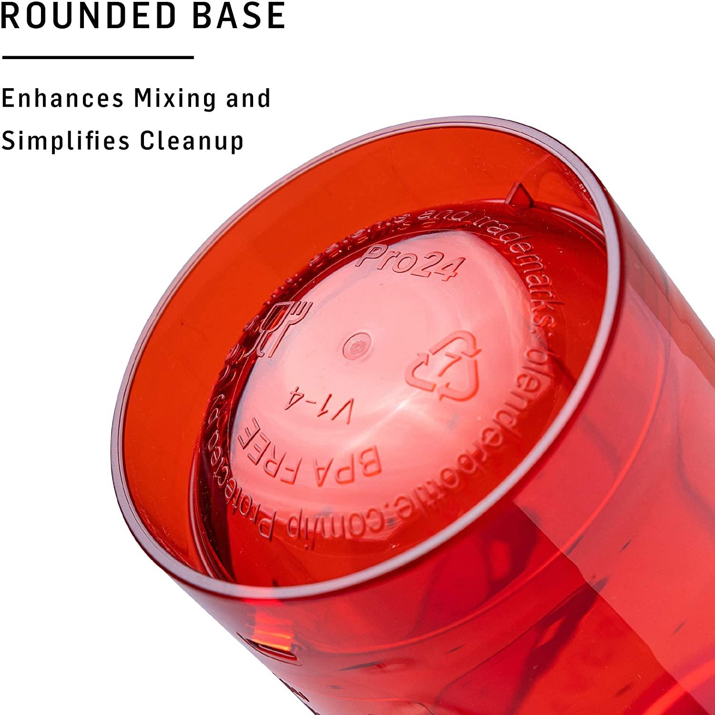 BlenderBottle Pro Series Odor-Resistant Shaker Foodie Special Edition 24oz