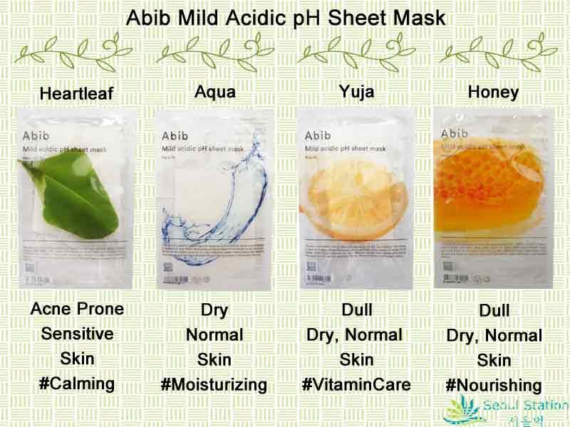 Abib Mild Acidic pH Sheet Mask Heartleaf Fit   Lazada Singapore