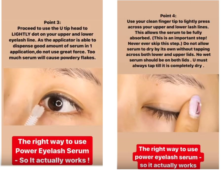 Image result for miskos eyelash serum