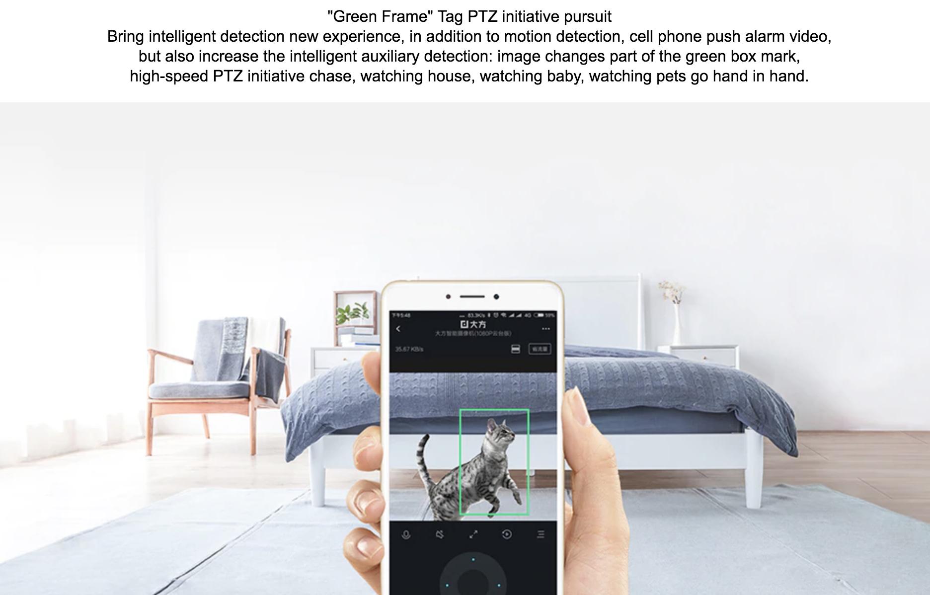 Xiaomi Hualai Xiaofang Dafang Smart IP Camera 110 Degree 1080p FHD  Intelligent Security WIFI IP Cam Night Vision For Mi Home App Xiaomi CCTV
