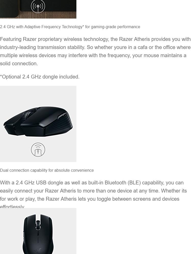 Razer Atheris Bluetooth Pairing