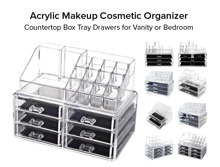 Acrylic Makeup Cosmetic Storage
