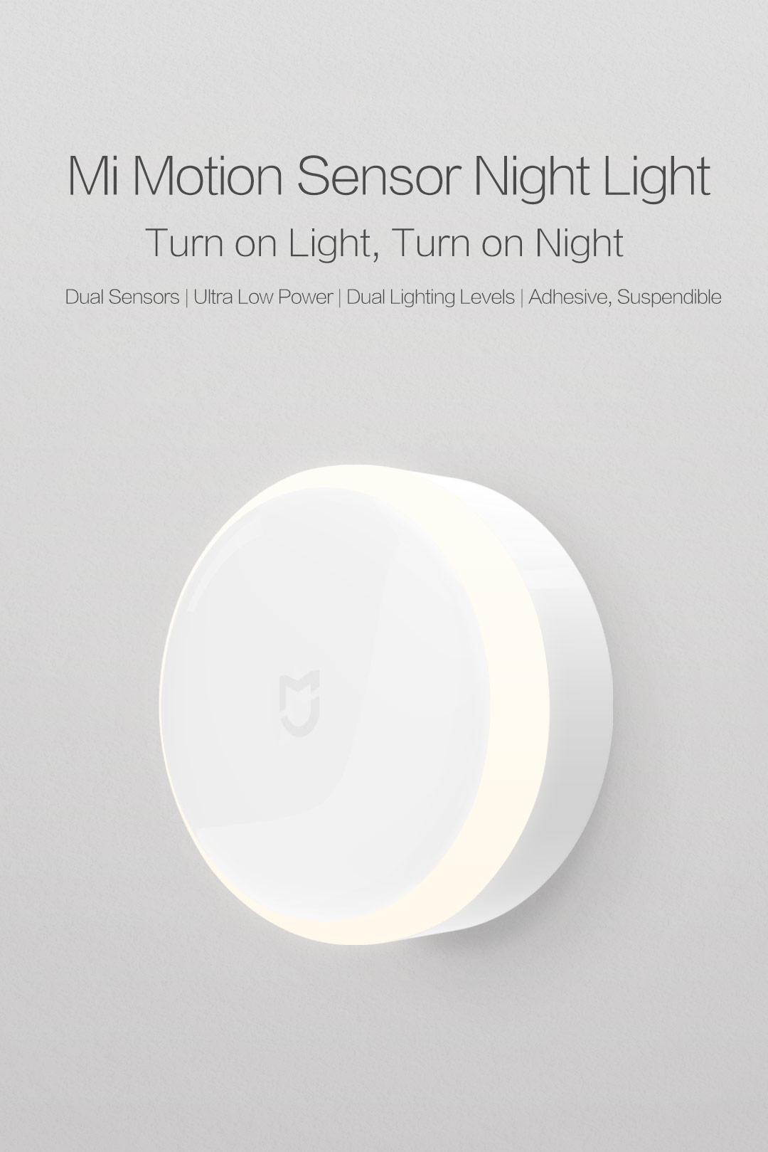 brand new f820c 87c35 Yeelight Smart Motion Sensor IR LED Nightlight (3x AA Battery Included) -  Xiaomi Mi Night Light - Plug and Play - Built in Infra Red Body Motion ...