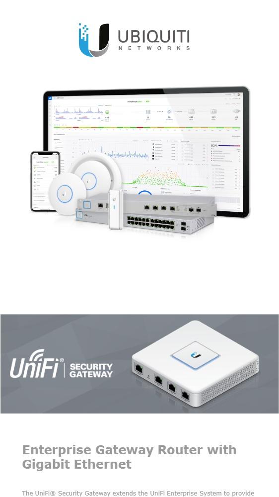 UniFi Security Gateway, USG