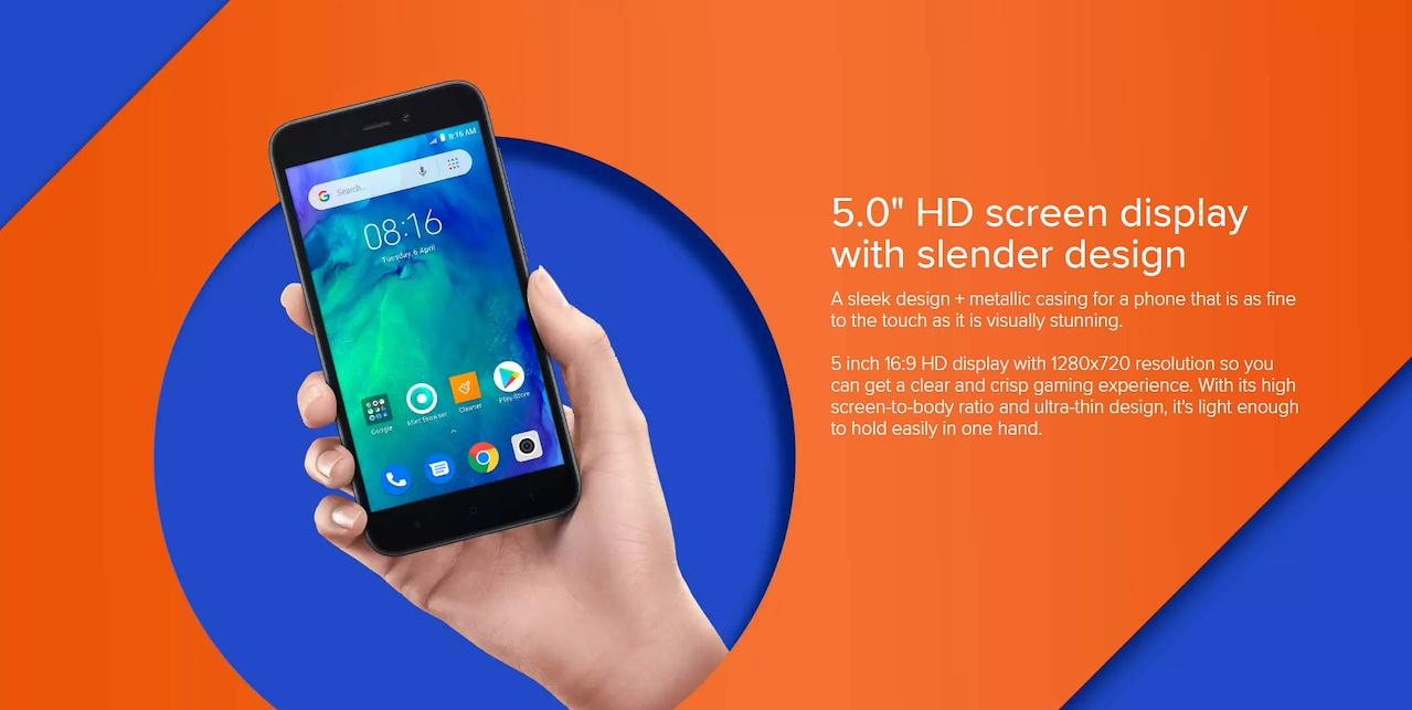 (2019) Xiaomi Redmi Go Android 8 1 Oreo 1GB RAM 8GB ROM 3000mAh Battery  Smart Phone (Export set)