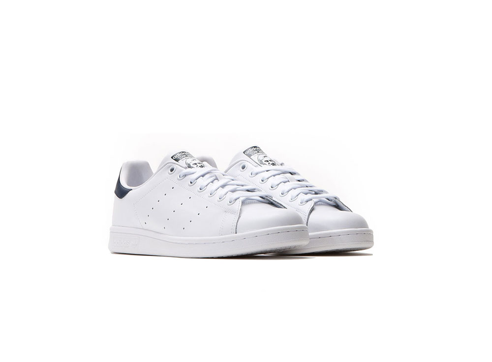 M20325 NEW IN BOX Adidas Men/'s Originals Stan Smith Shoes FREE SHIP NAVY
