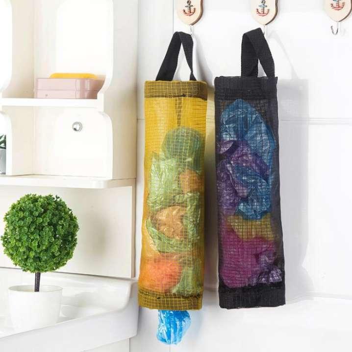 Plastic Bag Holder Dispenser Hanging