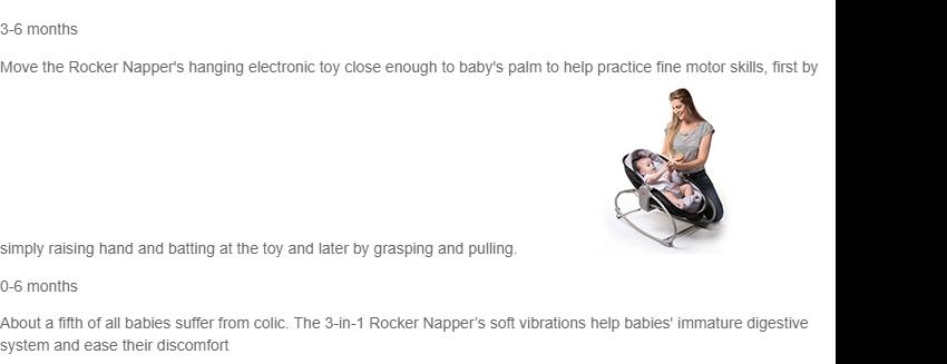 03ae2155e TINY LOVE 3-IN-1 ROCKER NAPPER – LUXE (NEW!)