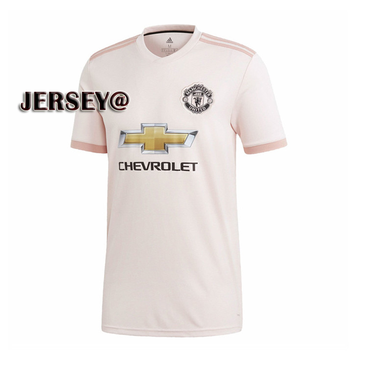 new arrival 388c1 756ea 2019 New Season 2018/2019 Top Quality Soccer Jersey Manchester United Away  Football Jersey Kit Pink Jersey for Men